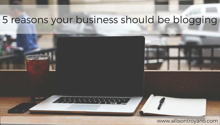 5 reasons your business should be